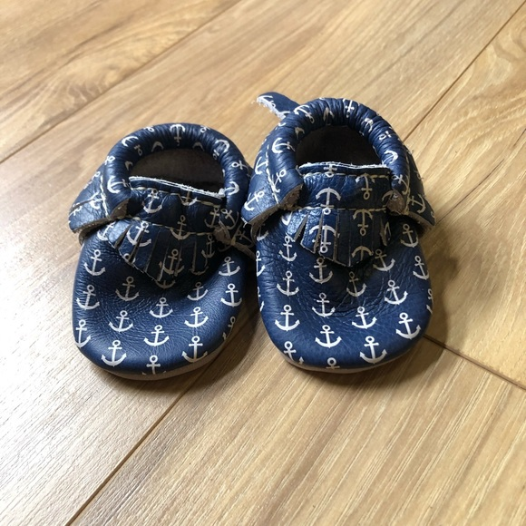 Freshly Picked Baby Moccasins Size 1